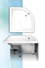 Sanipro Viki Lux magas zuhanytálca