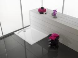 Vip szögletes öntött márvány zuhanytálca