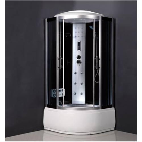Balneum Ibiza Magas tálcás Hidromasszázs zuhanykabin 90x90 cm