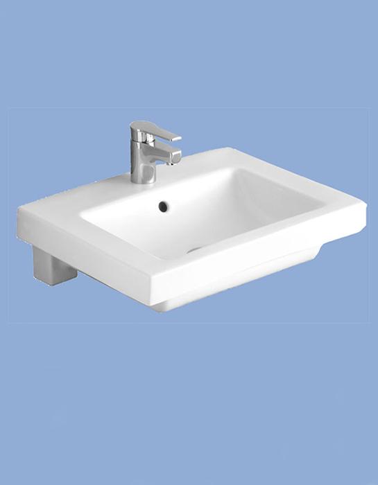 Liner beépíthető mosdó 61 x 47 cm 5109 L1 R1