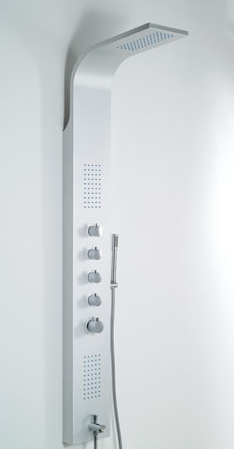 Wellis Mariner-Silver zuhanypanel