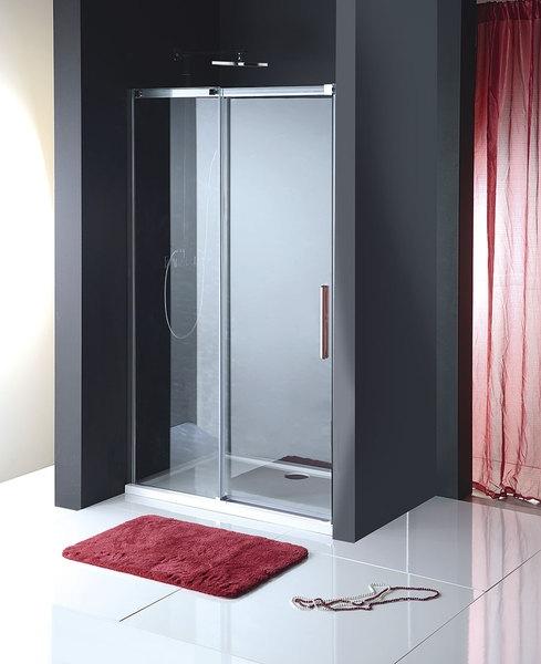 Altis line zuhanyajtó átlátszó üveggel