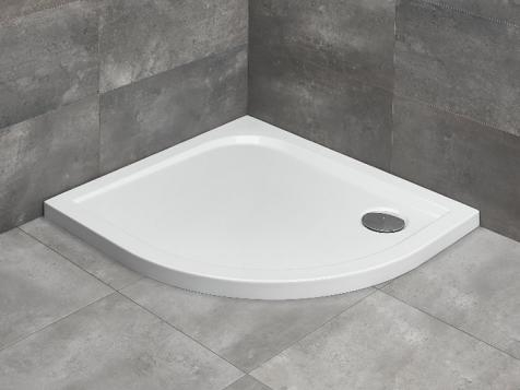 Radaway Delos E íves aszimmetrikus zuhanytálca