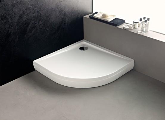 akril zuhanyt lca 90x90 negyedk r ves rg p. Black Bedroom Furniture Sets. Home Design Ideas