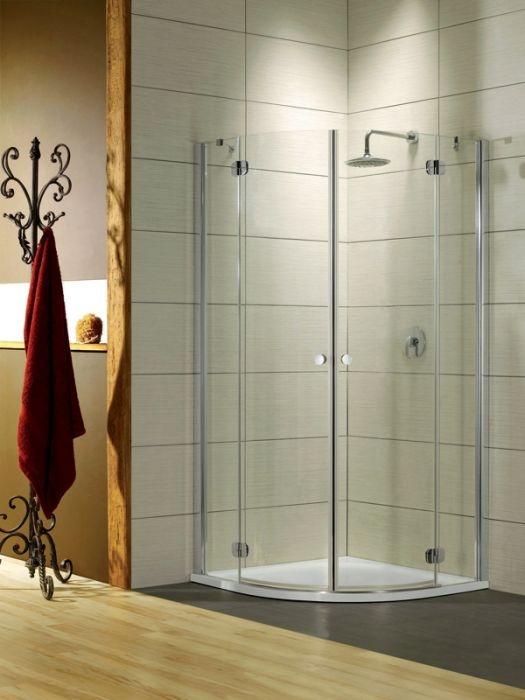 Radaway Torrenta PDD íves két nyílóajtós zuhanykabin