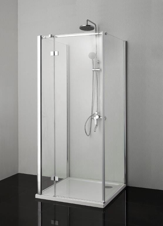 Smartflex falsíkra szerelhető zuhanykabin, egy nyíló ajtóval