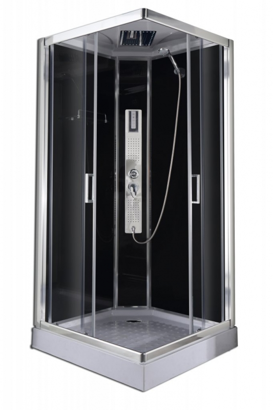 Sanotechnik Trend 2 szögletes hidromasszázs zuhanykabin elektronikával