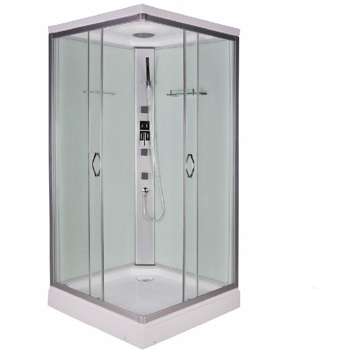 Sanotechnik Twist szögletes Quick Line hidromasszázs zuhanykabin