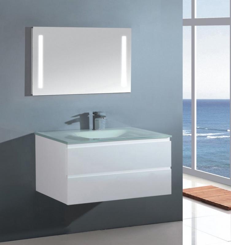 Sanotechnik alsóbútor fehér, 70x48