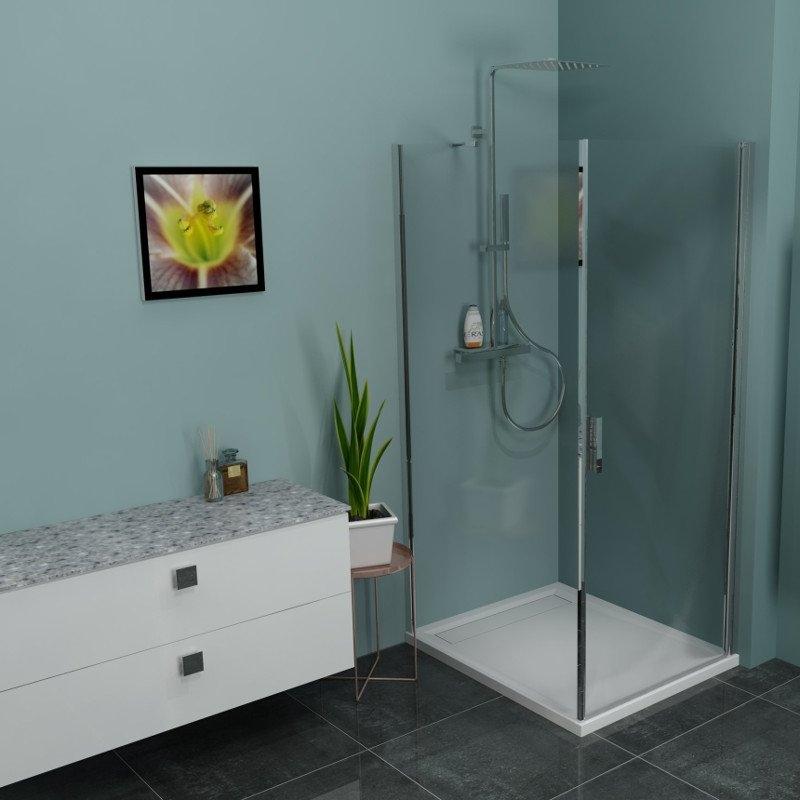 Aszimmetrikus zuhanykabin - Apollo Webáruház